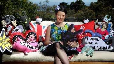 Bronwyn Bowerman was a blog ingenue when she decided to create a piece of craft every day.