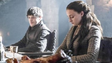 Boo, hiss ... Ramsay Bolton seems intent on making Sansa squirm, but he's about to get some unhappy news of his own.