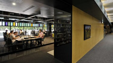 Read all about it: The Waurn Ponds Library and Community Hub has two levels.