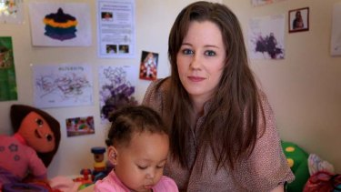 ''I would love to put her back in the system but we just can't afford it'' ... Alison Fuller took her daughter, Amelia, out of care due to rising childcare costs.