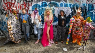 Performance artists who will be taking part in a Sydney contemporary art performance trail weaving from Carriageworks through to the streets of Redfern and Newtown.