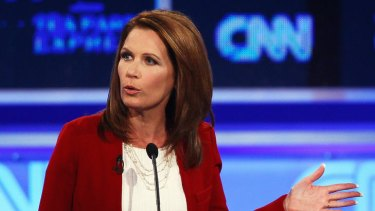 Michele Bachmann ... just repeating what a mother had told her.