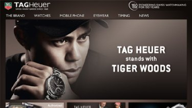 Watchmaker Tag Heuer 'stands with Tiger' amid new cheating