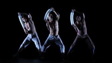 Rio dancers perform in Correria/Agwa for Spring Dance last year.