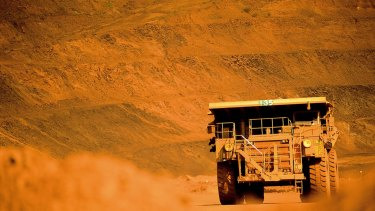 The iron ore market remains oversupplied.