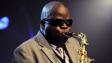 One of the greats … saxophonist Maceo Parker.