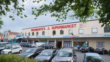 The iconic Piedimonte supermarket in Melbourne's inner north is poised for a $100 million transformation.