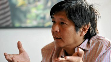 Power player … Bongbong in 2010.