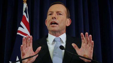 """""""Every day I'm talking to the people of Australia about what we in the Coalition can do to improve their lives"""" ... Opposition Leader Tony Abbott."""