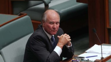 Tony Windsor ... has had enough of the methods of coal seam gas companies.