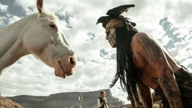 <i>The Lone Ranger</i> starring Johnny Depp actually turned a profit.
