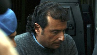 Fall from grace ... Francesco Schettino is under house arrest.