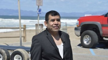 Pastor Maurigro Cervantes tried to save his cousin, Benito Flores, who was an assistant during the baptism.