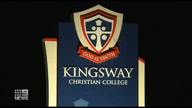 The body of an eleven-month-old baby was found on the grounds of Kingsway Christian College in Perth.