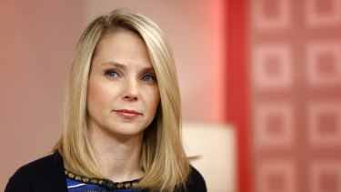 Yahoo chief executive Marissa Mayer: Activist investors have pressed Yahoo to sell its core business rather than spin it off, even though a sale would likely incur more taxes.