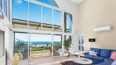 Immigration Minister Peter Dutton's Palm Beach property.