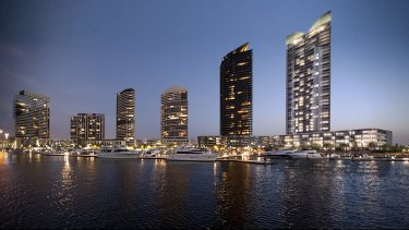 The Yarra's Edge development at Docklands, which is now 20 years old.
