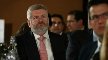 """""""Ten's announcement today that it will enter voluntary administration is a wake-up call to opponents of media reform."""": Minister for Communications and the Arts, Mitch Fifield."""