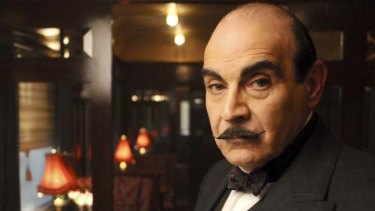 On the case ... David Suchet as Poirot.