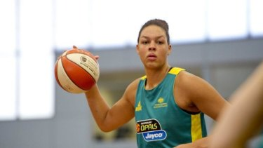 Opals star Liz Cambage won't take part in the women's basketball world championship after she ruptured her Achilles tendon in a warm-up match against the US.