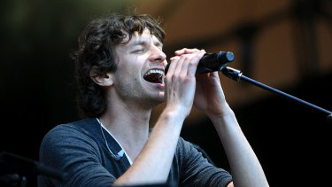 Gotye is nominated for his songs </i>Somebody That I Used To Know</i> and <i>I Feel Better</i>.