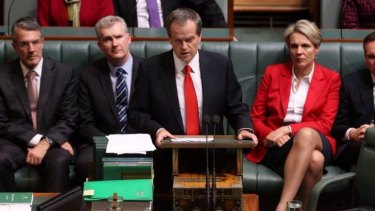 """The government forgot a lot of people on budget night"": Bill Shorten."