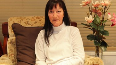 Susan Hyland reflects on painful childhood memories at her Coffs Harbour home.