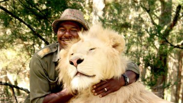 Zion Wildlife Gardens senior big cat handler Dalu MnCube, one of several big cat handlers at the park in Whangarei.