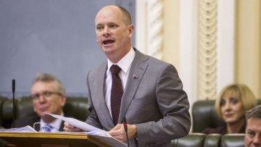 Queensland Premier Campbell Newman.