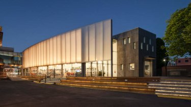 The external of the new Williamstown Library.