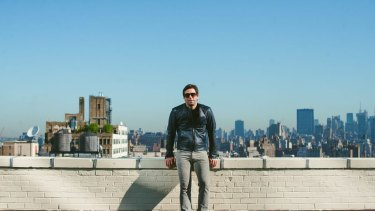 Up on the roof: Dr Ori Allon in New York.