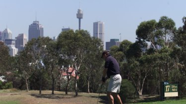 Moore Park Golf Course is the closest course to the Sydney CBD and is a rare course that is increasing visitor numbers.