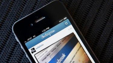 Big deal ... Facebook has paid $1 billion for Instagram.