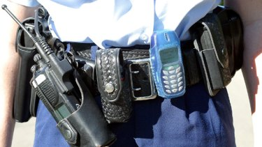 One in six NSW Police officers has had a workplace injury caused by their belt, which weighs 6.8 kilograms.