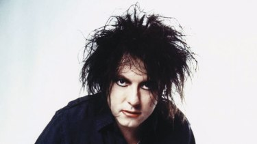 Robert Smith of the Cure ... gloom becomes him.