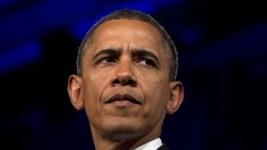Barack Obama ... not popular.