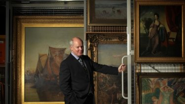Outgoing NGV director Gerard Vaughan will return to academia.