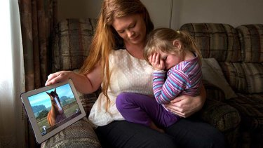 """""""I was shocked how difficult it was to get a refund"""": Tegan DeClark with her daughter Amelia."""