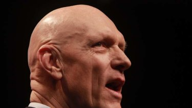 Peter Garrett ... secular call.