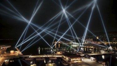 Lights over Hobart, Tasmania, where a similar loans-scheme has proven a success.