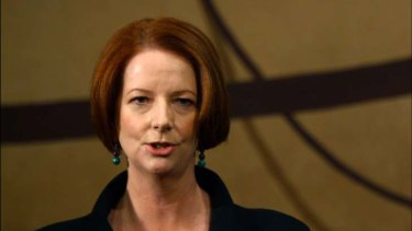 """Julia Gillard ...  """"under no illusions  about the depth of the political challenges""""."""