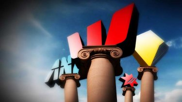 In a league of their own: Australia's big four banks.