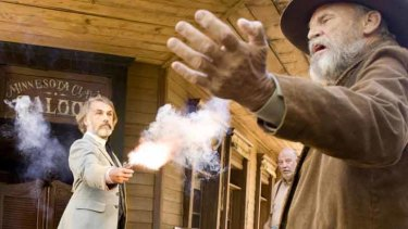Dr King Schultz in <i>Django Unchained</i>: the man you want in your corner.
