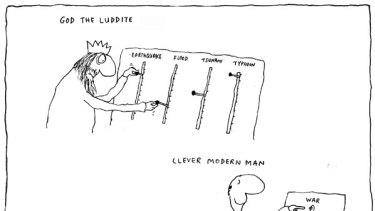 Michael Leunig cartoon from October 8