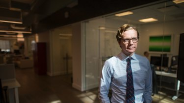 Cambridge Analytica mines data but CEO Alexander Nix doesn't like giving away much about himself.