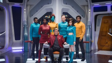 Black Mirror USS Callister. The role of captain is played by Jesse Plemons.
