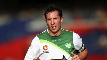 Glory days ... English football legend Robbie Fowler was the marquee signing for the North Queensland Fury in their debut season.