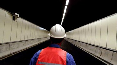 A white elephant ... a plant to filter air pollution in the M5 East tunnel will be closed.