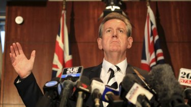 New laws: NSW Premier Barry O'Farrell.