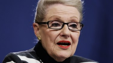 """Bronwyn Bishop was another of Tony Abbott's failed """"captain's picks""""."""